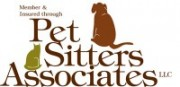 Pet Sitter Associates Member and Insured Through Logo